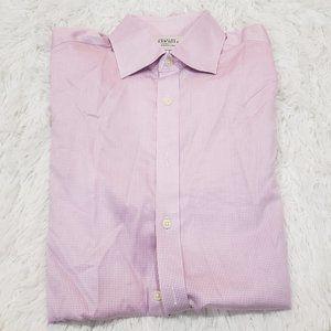 Charles Tyrwhitt Checkered Button Up Dress Shirt
